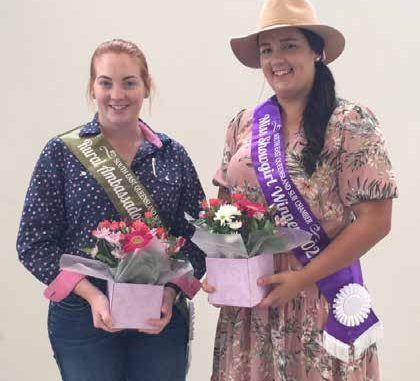 Georgia Rodgers and Caitlyn Hester will represent Beaudesert at the EKKA