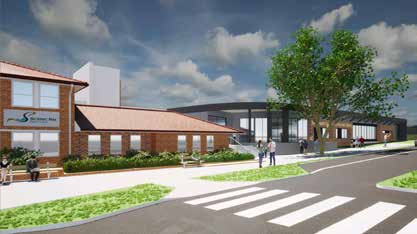 Artist's impression of the proposed Community Hub building in Brisbane Street. Source: Scenic Rim Regional Council.